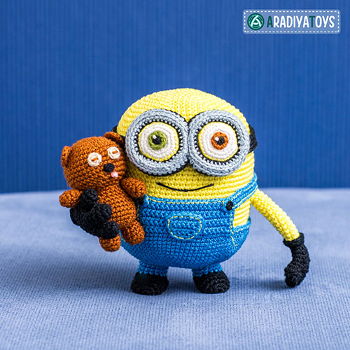 Minion Bob and Bear Tim amigurumi pattern ...