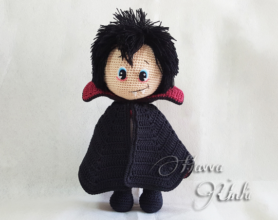 Vlad the Vampire amigurumi pattern - Amigurumipatterns.net
