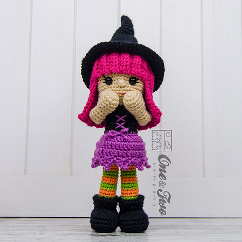 Free Amigurumi Witch Pattern : Willow the witch amigurumi pattern - Amigurumipatterns.net