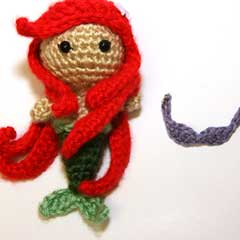 Ariel Princess  amigurumi crochet pattern by Sahrit