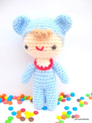 Amigurumi Love Tutorial : Baby Love - Free amigurumi pattern