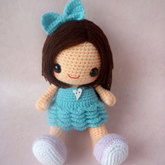 Bella amigurumi pattern by Berriiiz