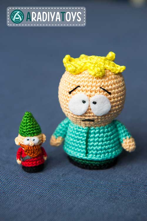 Butters and underpants gnome amigurumi pattern ...