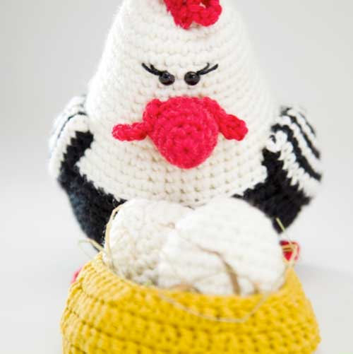 Amigurumi Rooster Pattern Free : Chicken Family amigurumi pattern - Amigurumipatterns.net