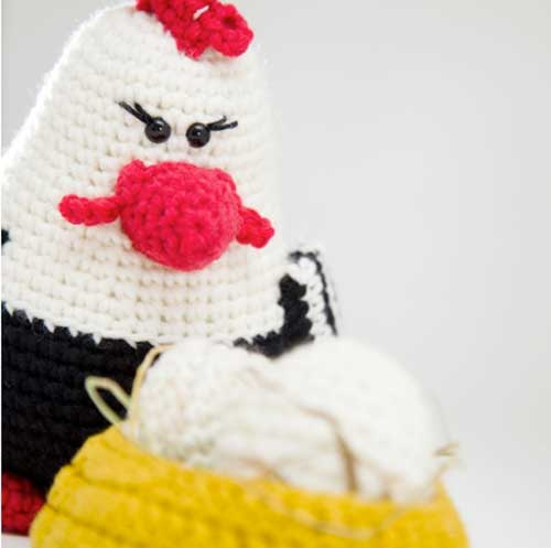 Amigurumi Chicken Pattern : Chicken Family amigurumi pattern - Amigurumipatterns.net