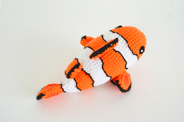 Amigurumi Sailor Octopus Pattern Free : Clown fish amigurumi pattern - Amigurumipatterns.net