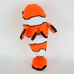 Clown fish amigurumi pattern by The Flying Dutchman Crochet Design