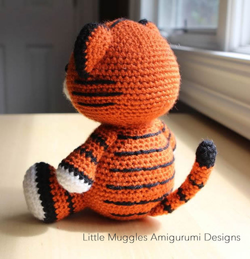 Nerdy Amigurumi Patterns : Cubby the tiger amigurumi pattern - Amigurumipatterns.net