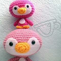 Cute Penguin Family amigurumi pattern by A Morning Cup of Jo Creations