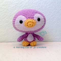 Cute Penguin Family amigurumi by A Morning Cup of Jo Creations