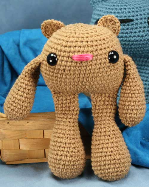 Free Amigurumi Patterns Horse : Demonstrative Bear - Free amigurumi pattern