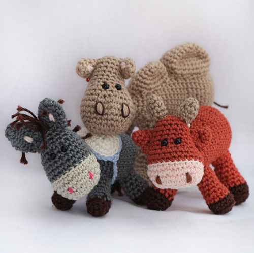 nativity scene knitting pattern free - Google Search | Crochet ... | 498x500