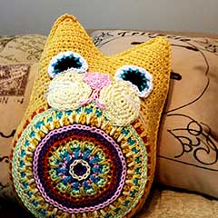 Fat Cat amigurumi pattern by Part Pixy Designs