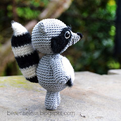 Febo the Raccoon amigurumi pattern - Amigurumipatterns.net