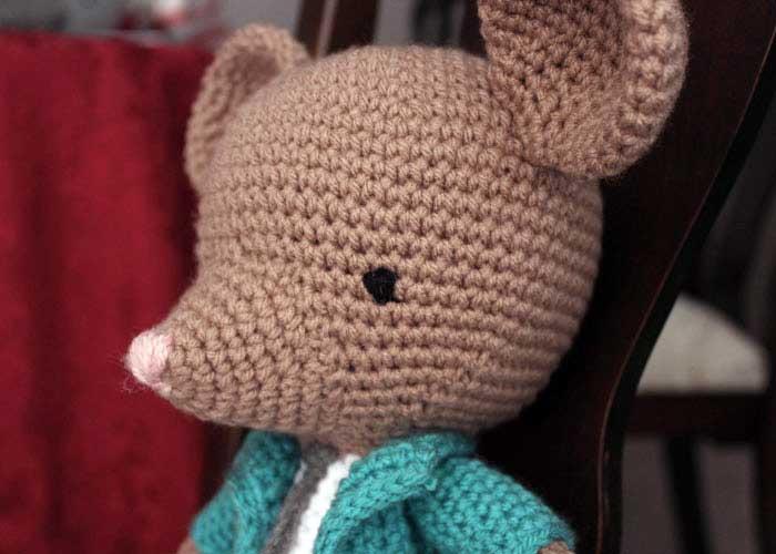 Little Amigurumi Patterns Free : Francisco the fancy little mouse free amigurumi pattern