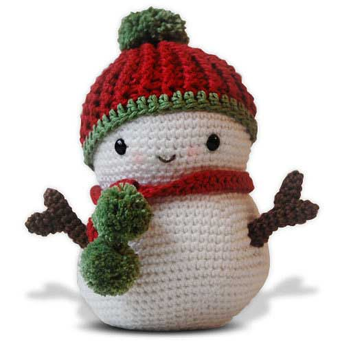 Crochet Patterns Free Snowman : Frosty the Snowman and Christmas Tree amigurumi pattern ...