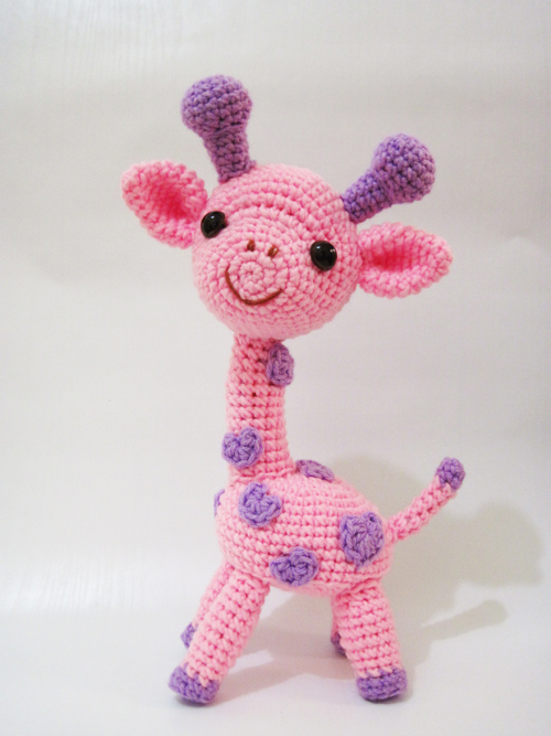 Gigi the Giraffe amigurumi pattern - Amigurumipatterns.net