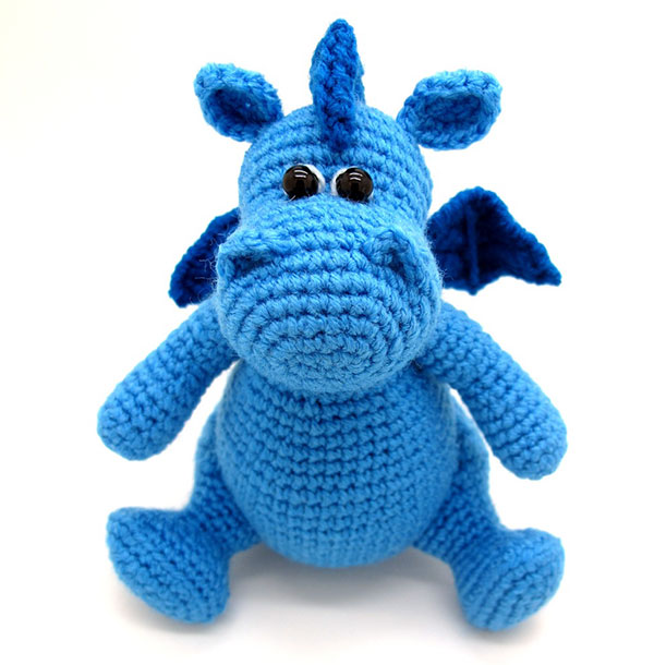 Amigurumi Dragon Gratuit : Grow, Baby dragon amigurumi pattern - Amigurumipatterns.net