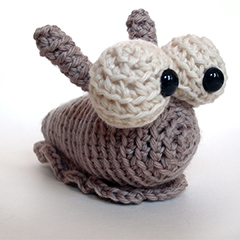 Hannah the slug amigurumi by FreshStitches