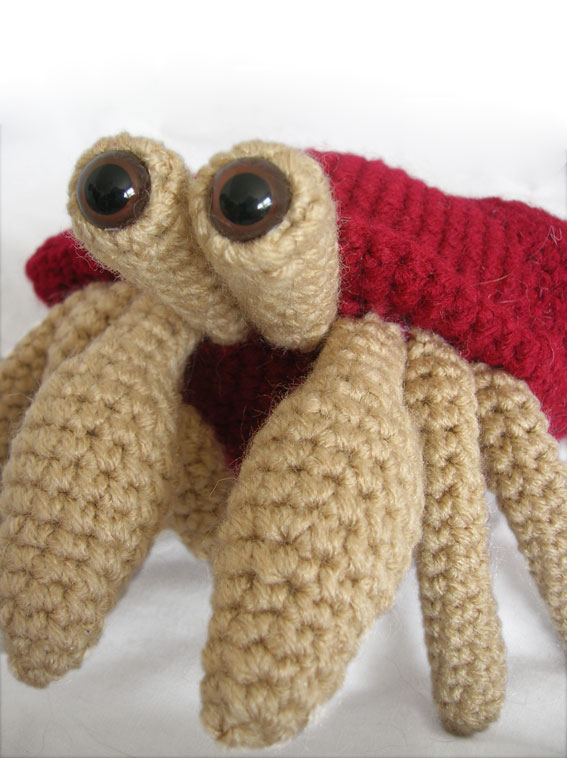 Crab amigurumi free pattern (With images) | Crochet toys patterns ... | 758x567
