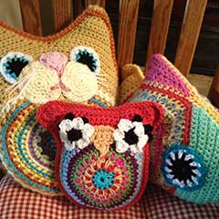 Hoot Hoot Owl amigurumi pattern by Part Pixy Designs