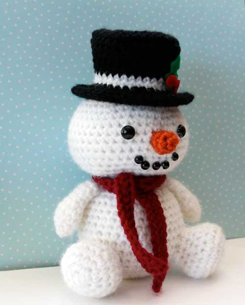 Crochet Snowman Pattern Image Collections Knitting Patterns Free