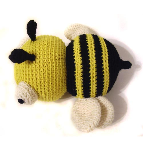 Amigurumi Pattern Bee : Jonathan the Bee amigurumi pattern - Amigurumipatterns.net