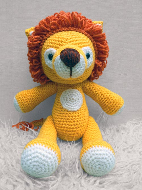 Amigurumi Free Patterns Lion : Lenny Lion amigurumi pattern - Amigurumipatterns.net