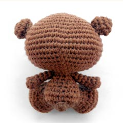 Levi the Baby Bear amigurumi by A Morning Cup of Jo Creations