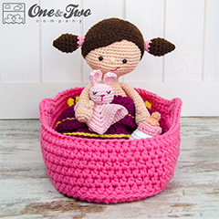 Little me playset amigurumi pattern by One and Two Company