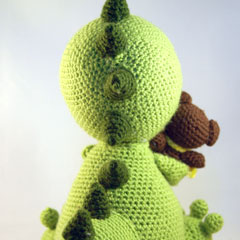 Little babydragon amigurumi pattern by Pii_Chii