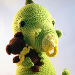 Little babydragon amigurumi by Pii_Chii