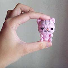 Little Kitten amigurumi crochet pattern