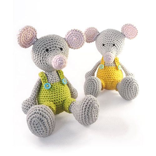 Free Crochet Pattern For Minnie Mouse Amigurumi : Manfred the Mouse amigurumi pattern - Amigurumipatterns.net