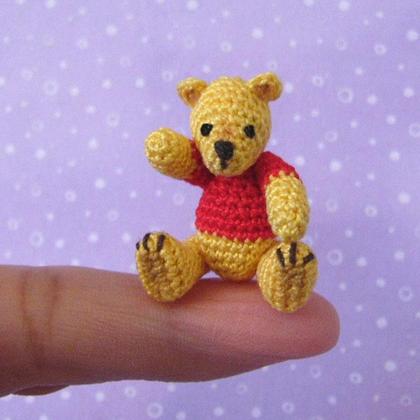 Fat Face Pooh Bear Amigurumi | Fat Face & Me | 600x600