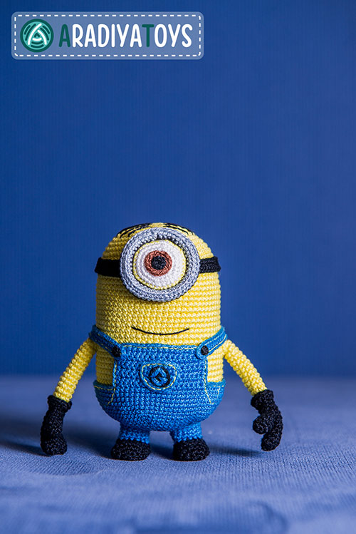 Minion Stuart (Despicable Me) amigurumi pattern - Amigurumipatterns.net