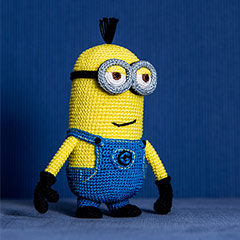 Crochet Patterns Minions Despicable Me : Despicable Me Minion Crochet Pattern