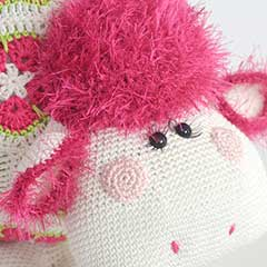Miss Wooly amigurumi pattern by Woolytoons