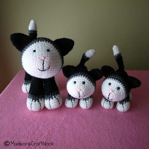 Mittens and kittens amigurumi pattern - Amigurumipatterns.net