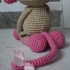 Monkey-girl amigurumi pattern by lilleliis
