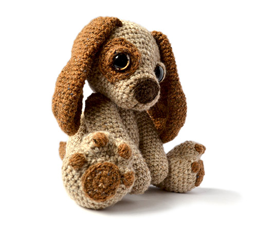 Amigurumi Crochet Dog : Moss the Puppy dog amigurumi pattern - Amigurumipatterns.net