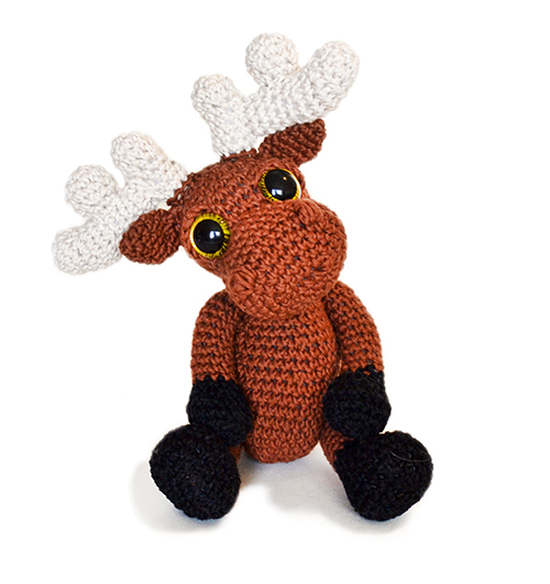 Mostyn the Moose amigurumi pattern - Amigurumipatterns.net