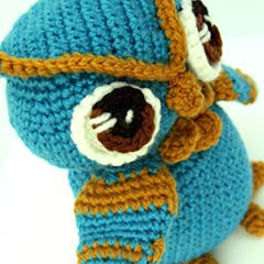 Nocturnal Owl amigurumi by Kraft Croch