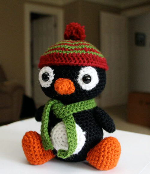 Quick And Easy Amigurumi Patterns : Pepe the Penguin amigurumi pattern - Amigurumipatterns.net