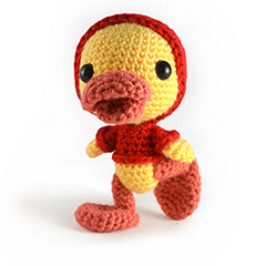 Puddles the duckling amigurumi pattern by sarsel