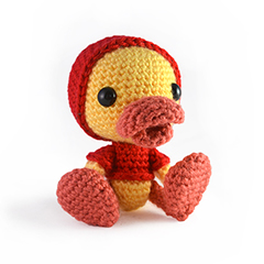 Puddles the duckling amigurumi by sarsel