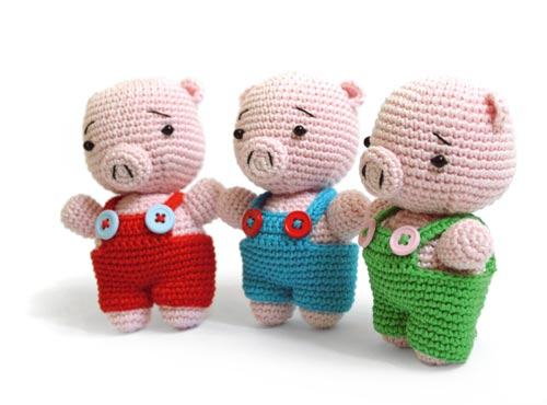 Reco the Pig amigurumi pattern - Amigurumipatterns.net