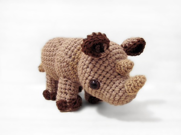 Amigurumi Rhino : Little Rhylie the Rhino amigurumi pattern ...