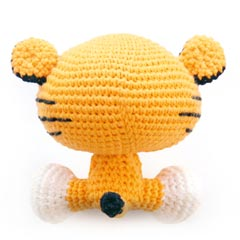 Roary the Tiger amigurumi by A Morning Cup of Jo Creations