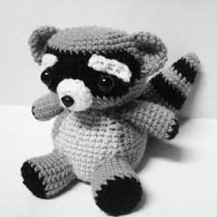 Rocky Raccoon amigurumi by Sweet N' Cute Creations